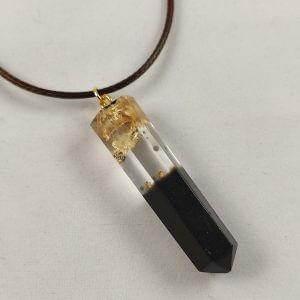 Aranypelyhek- női nyaklánc