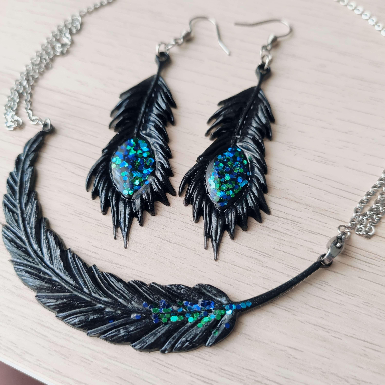 Peacock-páva szett