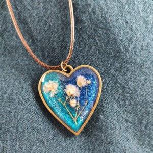 Téli szív női nyaklánc