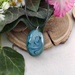 Green & blue vihar ovális nyaklánc